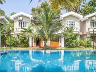 Homely 4-BR villa with an inviting pool, close to Baga Beach