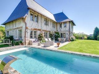 Villa de charme avec piscine près de Deauville