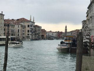Palazzo Grassi and Accademia Bridge superb House