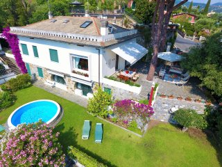 VILLA MINERVA-4BR w/private pool garden seaview