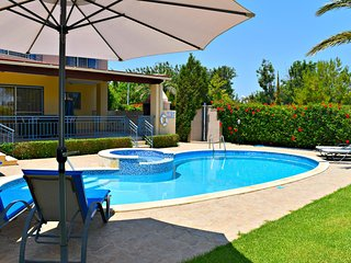 Luxury Villa Opposite Latchi's Blue Flag Beaches -Gated -Private Pool -Sea Views