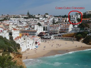 no. 2 Apartment Casa Cubo just at the beach Carvoeiro