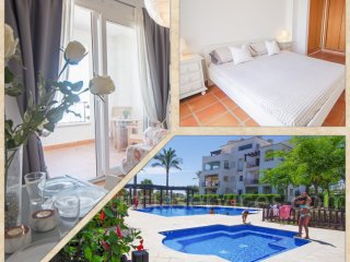Penthouse apartment in La Torre Golf Resort, Murcia - Free WIFI - Car available