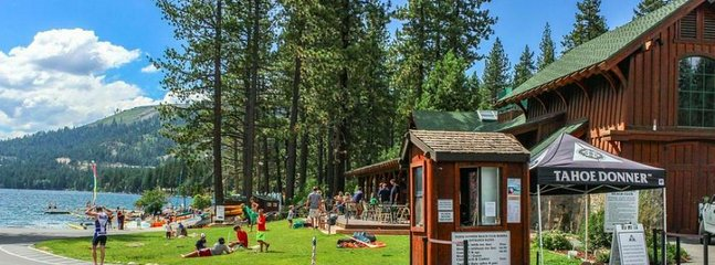 Guest Passes also get you access to the Private East End Donner Lake!