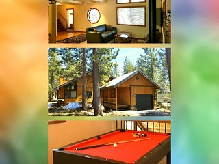 Pine Cone Place :) Loft/PingPong/PoolTable + Gym/Pool/Sauna/HotTub Passes!
