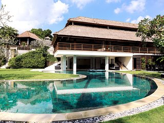 Private eight bedroom villa with pool, Canggu