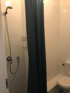 Your second private shower and bathroom
