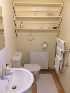 Master bedroom en suite shower room with all towels provided