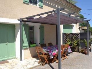 Las Brugues: Gîte le métayer à 30 min. de Carcassonne, piscine chauffée