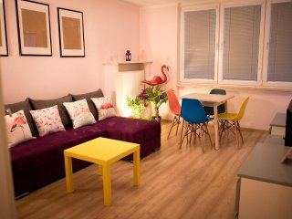Warsaw Central Flamingo Apartment