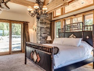 Secluded upscale lodge w/ private pond, valley views & luxury home comforts