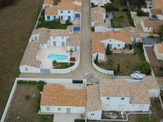 Maisons villla avec piscine à la mer
