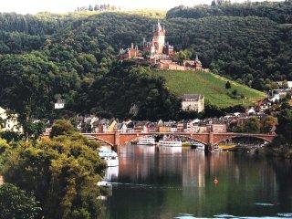phantastischer Burg-und Moselblick