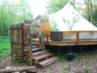 The Woodland Bell Tent
