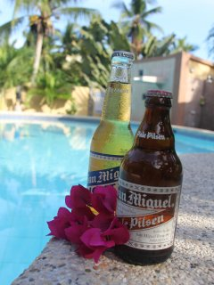 Cold Beers poolside