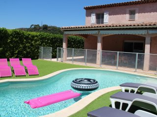 **Excellente Situation  *Villa Climatisee* Piscine Privee SANS CHLORE* 5'Plage*