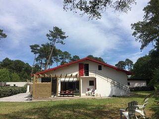 HOSSEGOR  NEW FOREST BEACH HOUSE 6 BEDROOMS