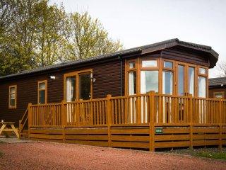 Sunflower Lodge in Northumberland