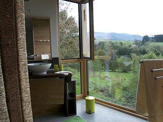 Chambre Tilleul - vue sur l'extérieur