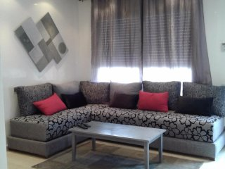 Apartment with one room in Casablanca, with wonderful city view and balcony