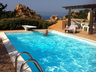 Villa Sole 1 Costa Paradiso: whole house, 6 beds and swimming pool