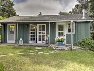 NEW! 1BR Carmel Valley Cottage w/Garden Patio!