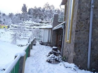 Beautiful 2 Bedroom Cottage facing snow peak Himalays