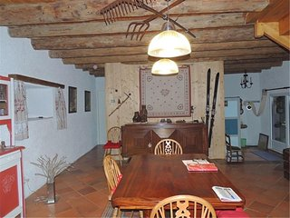 House with one room in Mont, with furnished terrace - 3 km from the slopes