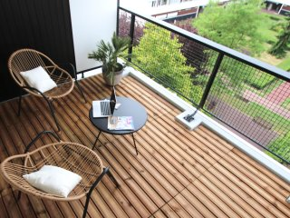 The Lille nest - +60m2 sunny flat with terrace