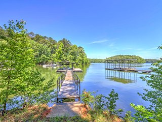 New! 2BR LaGrange Cabin w/ Deck and Private Dock!