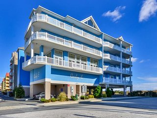 Fabulous Spacious Side Unit in Ocean Front Building. Perfect location for your V