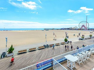 Fabulous Large Ocean Front Condo located on the OC boardwalk close to Amusement