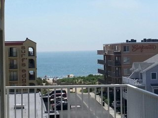 SPECIAL 15% July Aug  dates Beautiful Redone Ocean Block Condo  Steps to the bea