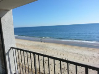 Wonderful Ocean Front Condo Fantastic View of Ocean and Bay Just Steps to the Be