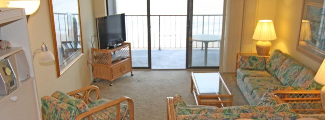 View of Living Room and Balcony