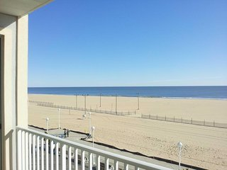 Fantastic Ocean Front Condo on Ocean City Boardwalk  Next to Amusement Pier