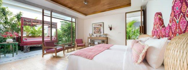 Chambre double, Guest Wing, Villa Zambala, Berawa Beach Bali