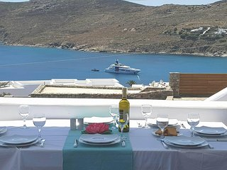 Amazing 4Bdrm Villa-Panoramic Sea View in Mykonos