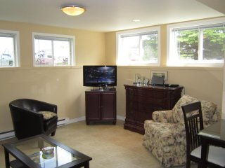 Fully Furnished and Equipped Basement Apartment with Plenty of Natural Light