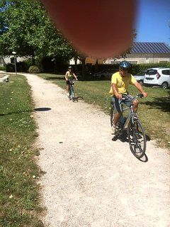 Walking or cycling the many kilometres of the route beside the canal de Bourgogne,