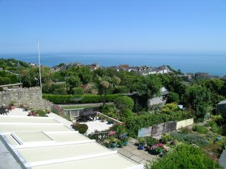 Elegant Victorian semi detached house with sensational south facing sea views