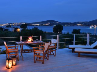 Enjoy a magic night while relaxing on the deck.