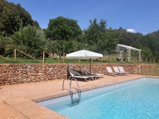 Entire Tuscan Farm Private Fenced Pool Free WiFI Pizza Oven near Siena 10P