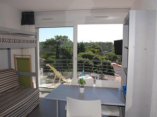 Studio in Hossegor, with terrace and WiFi