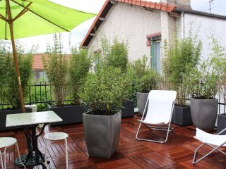 Apartment with one bedroom in Malakoff, with furnished terrace and WiFi