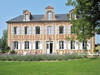 Stunning normandy manor house with 6 bedrooms and fantastic patio