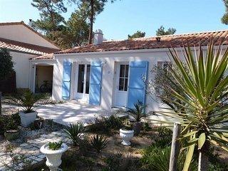 Villa independantes dans quartier du Phare a 550 m de la plage