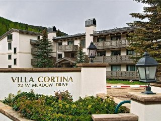 Villa Cortina 1-Bedroom 2-Bath Located in Vail Village