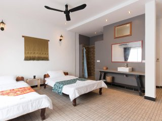 Peaceful Boutique Villa-Twin single Beds