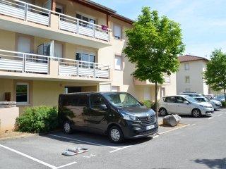 Instant-Leman II - Studio surequipe - proche centre + velos + parking prive